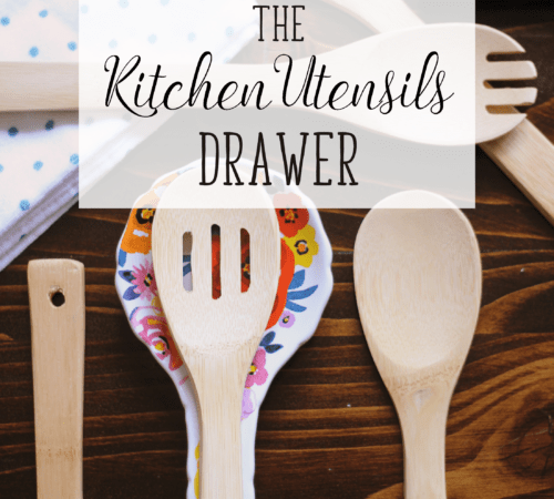 Kitchen utensils organization week 15 neat house sweet home declutter sort and organize your kitchen utensils and say goodbye to the tangled mess workwithnaturefo