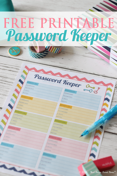 Organize Your Online Accounts with a Password Keeper - Week 14