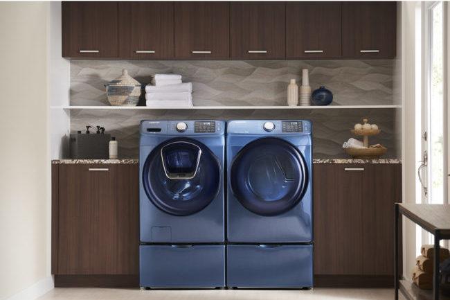 Azure Samsung front loaders | Laundry Room Design Board