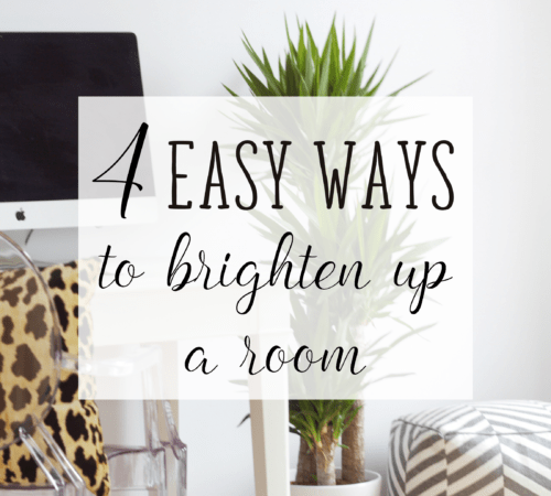 From Gloomy to Roomy: 4 Ways to Brighten Up Your Interior