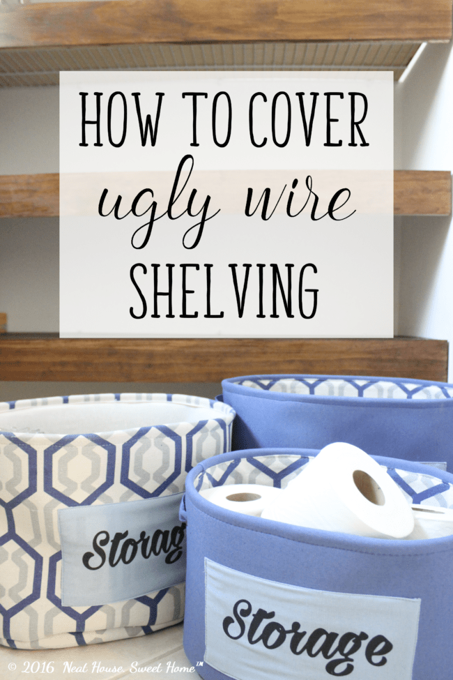 Super Diy Wood Covers For Wire Shelving Neat House Sweet Home Home Remodeling Inspirations Gresiscottssportslandcom