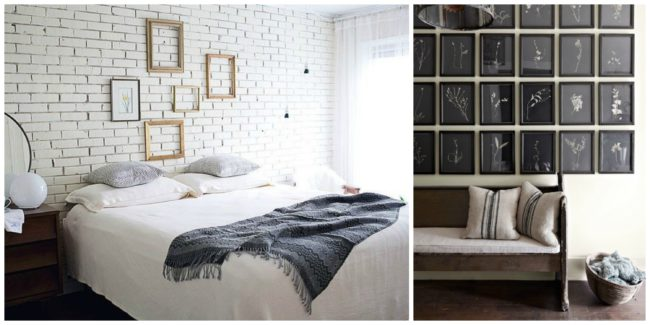 Other than books, frames are one of the most common ways to adorn a wall, but that does not have to mean they have to be boring.