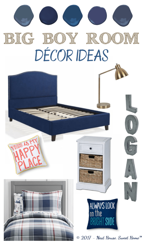 Big Boy Bedroom Decor Ideas | Home Organization & Home Decor