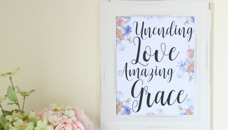 Unending Love Amazing Grace & My New Favorite Corner