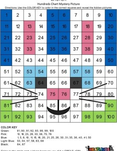 Easter bunny chart example also free printable mystery picture activity   neatlings rh