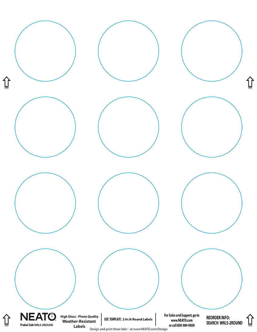 Avery 3 4 Inch Round Labels