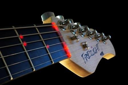 Led Guitar Helps Beginners Learn To Play Like A Pro