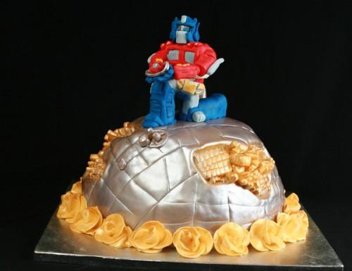 Optimus Prime Wedding Cake Neatorama