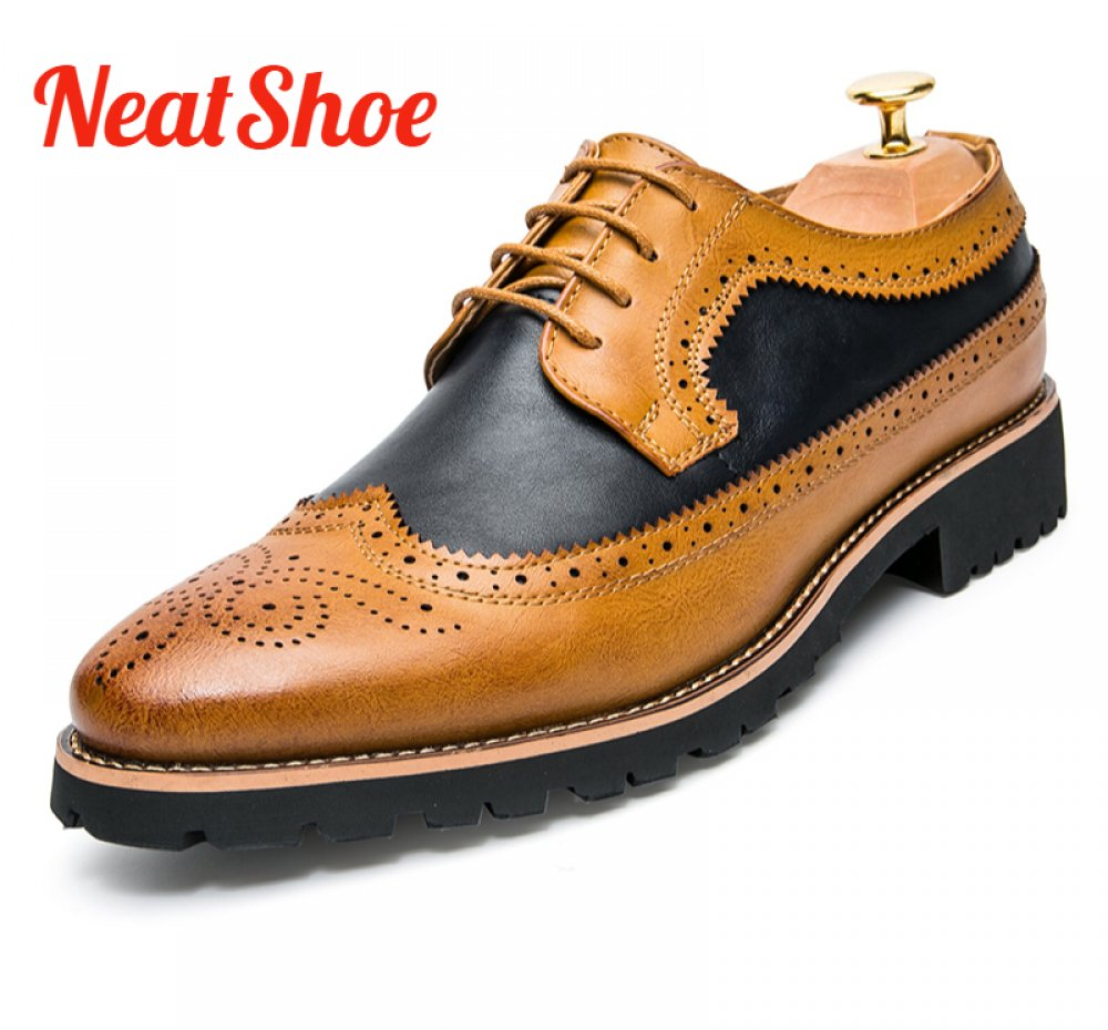 NeatShoe Co-operate Dressing Oxford Shoe