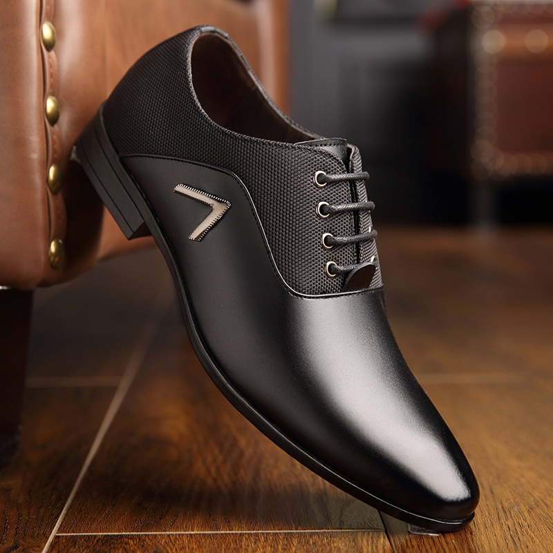 Formal Leather Luxury Wedding Oxford Shoes