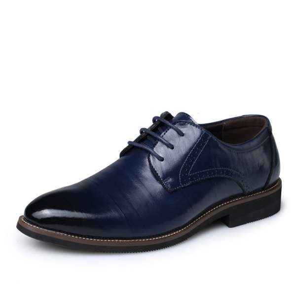 Leather Concise Men Business Shoes 8