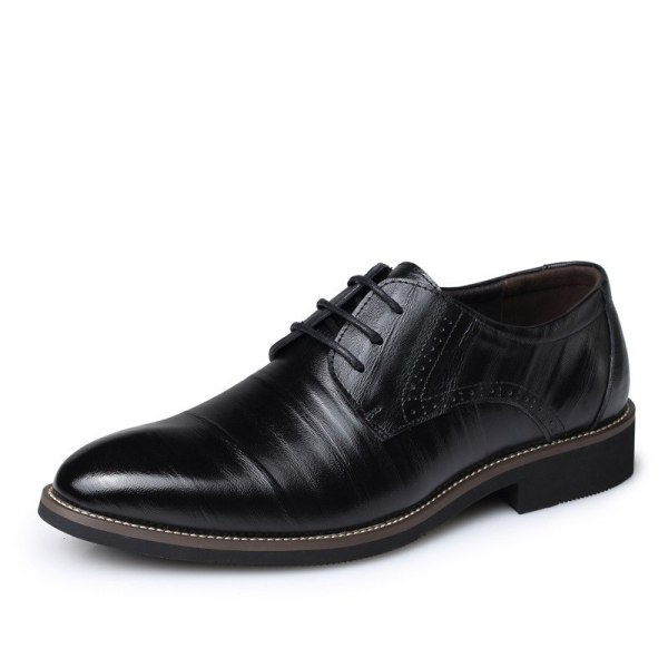 Leather Concise Men Business Shoes 7
