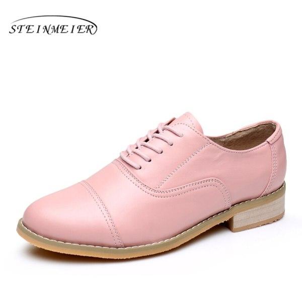Women Oxford Flat Genuine Leather 13