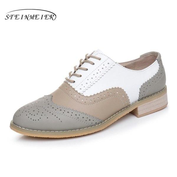 Women Oxford Flat Genuine Leather 17