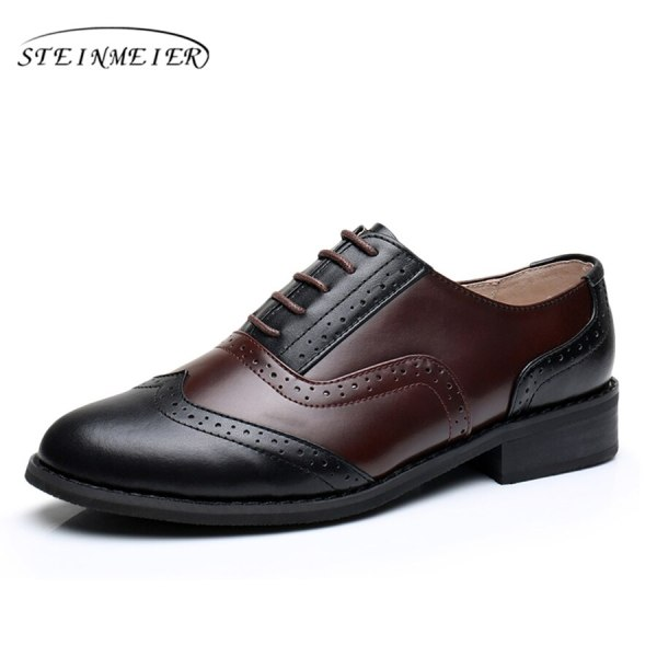 Women Oxford Flat Genuine Leather 15