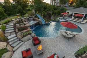 custom pool design in Scarsdale, NY