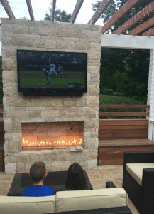Best Outdoor Entertainment Ideas TVs Patios Fire Pits