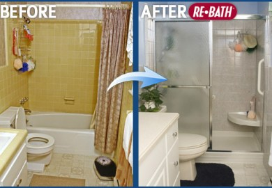 Remodeling A Small Bathroom Before And After