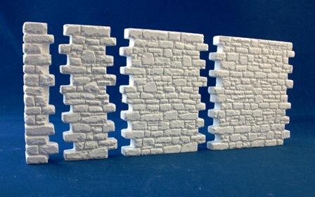 Wet Stacked Interlocking Wall Set