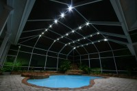 Screen Enclosure Lighting | Lighting Ideas