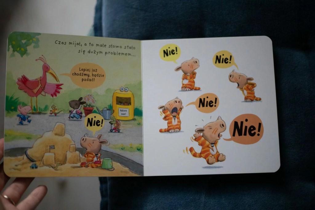 kartonowa książka dla najmłodszych