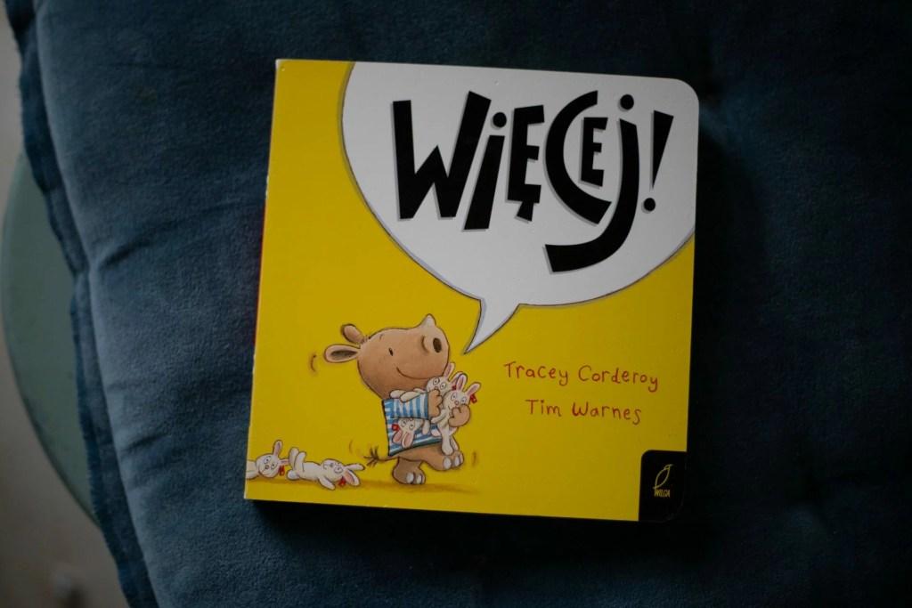 książka dla dzieci seria Więcej