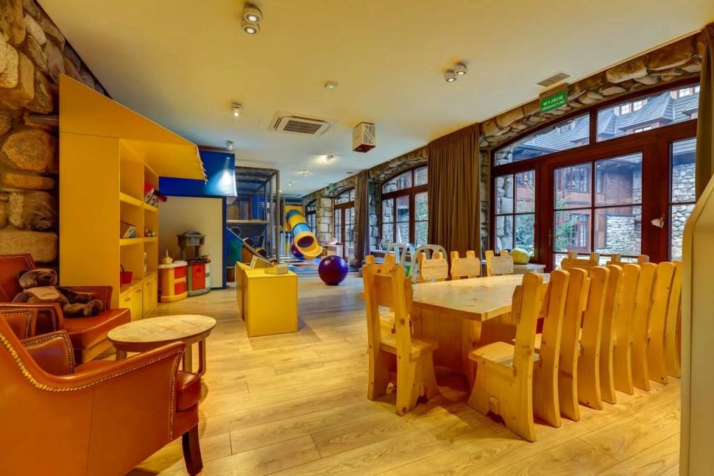 Aries Hotel & SPA - atrakcyjne miejsca dla dzieci - kącik zabaw