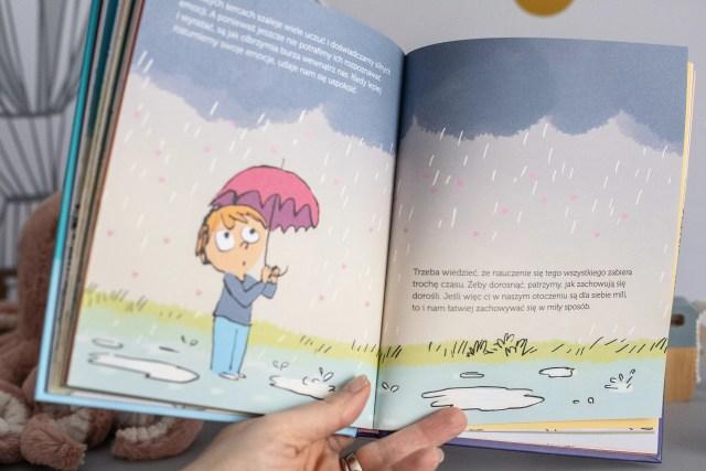 przykładowa strona z książki Dolto Emocje