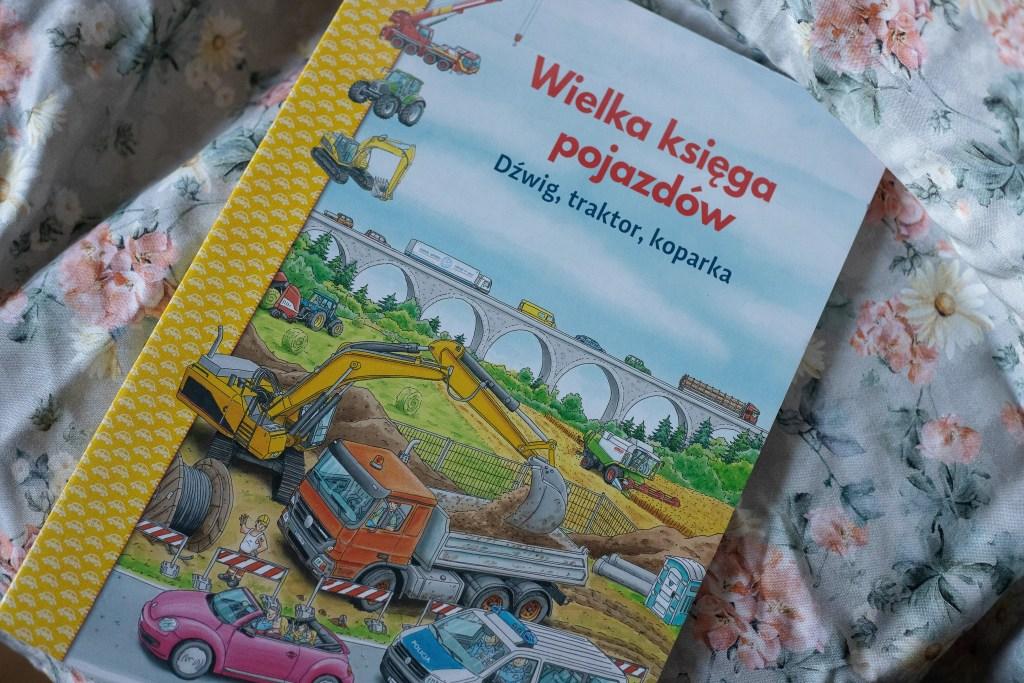 zdjęcie książki dla dzieci - Wielka księga pojazdów