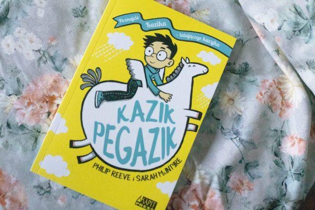 zdjęcie książki dla dzieci - Kazik Pegazik