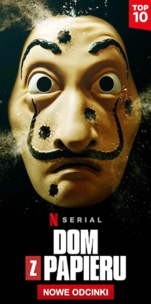 najnowsze seriale Netflix - Dom z papieru