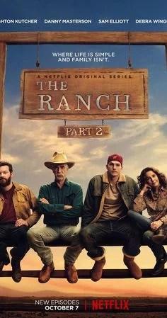 plakat serialu- the ranch