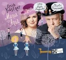 okładka audiobooka - mania czy ania