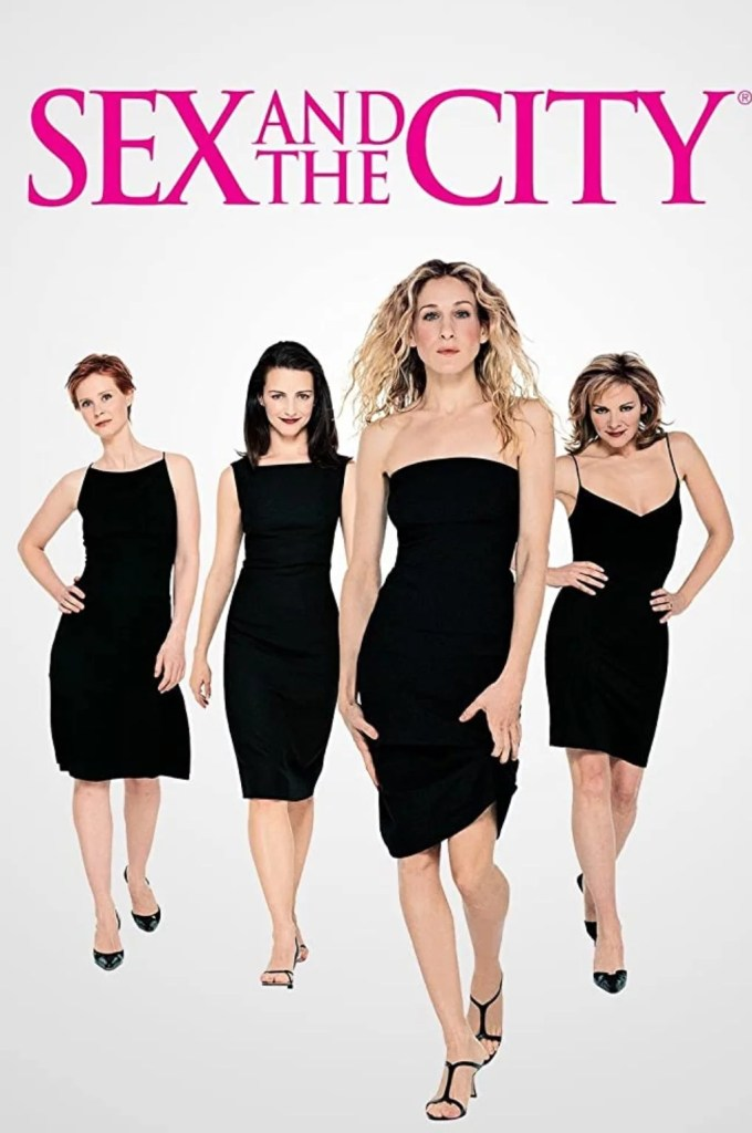 okładka serialu sex w wielkim mieście na HBO