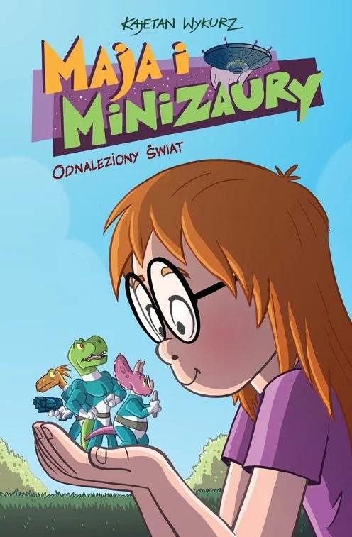 zdjęcie okładki - komiks dla dzieci - Maja i Minizaury
