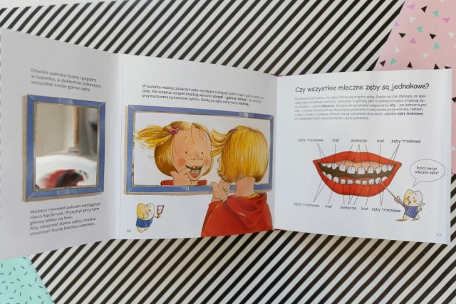 Moje zęby, Iwona Ortseifen, Thomas Rohner, wyd. Debit
