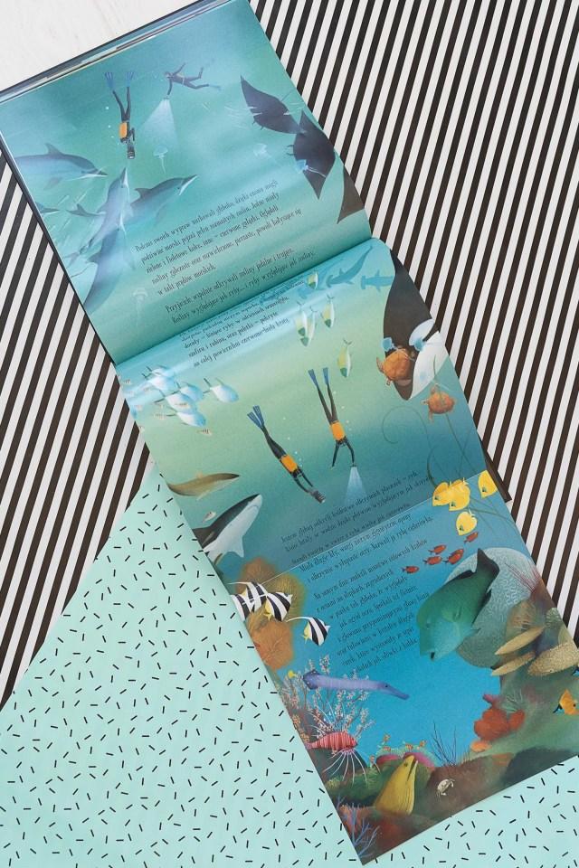 Podwodny świat, Jennifer Berne, wyd. Tekturka