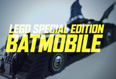 Lego Special Edition Batmobile Build