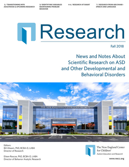 2018 Fall Research News