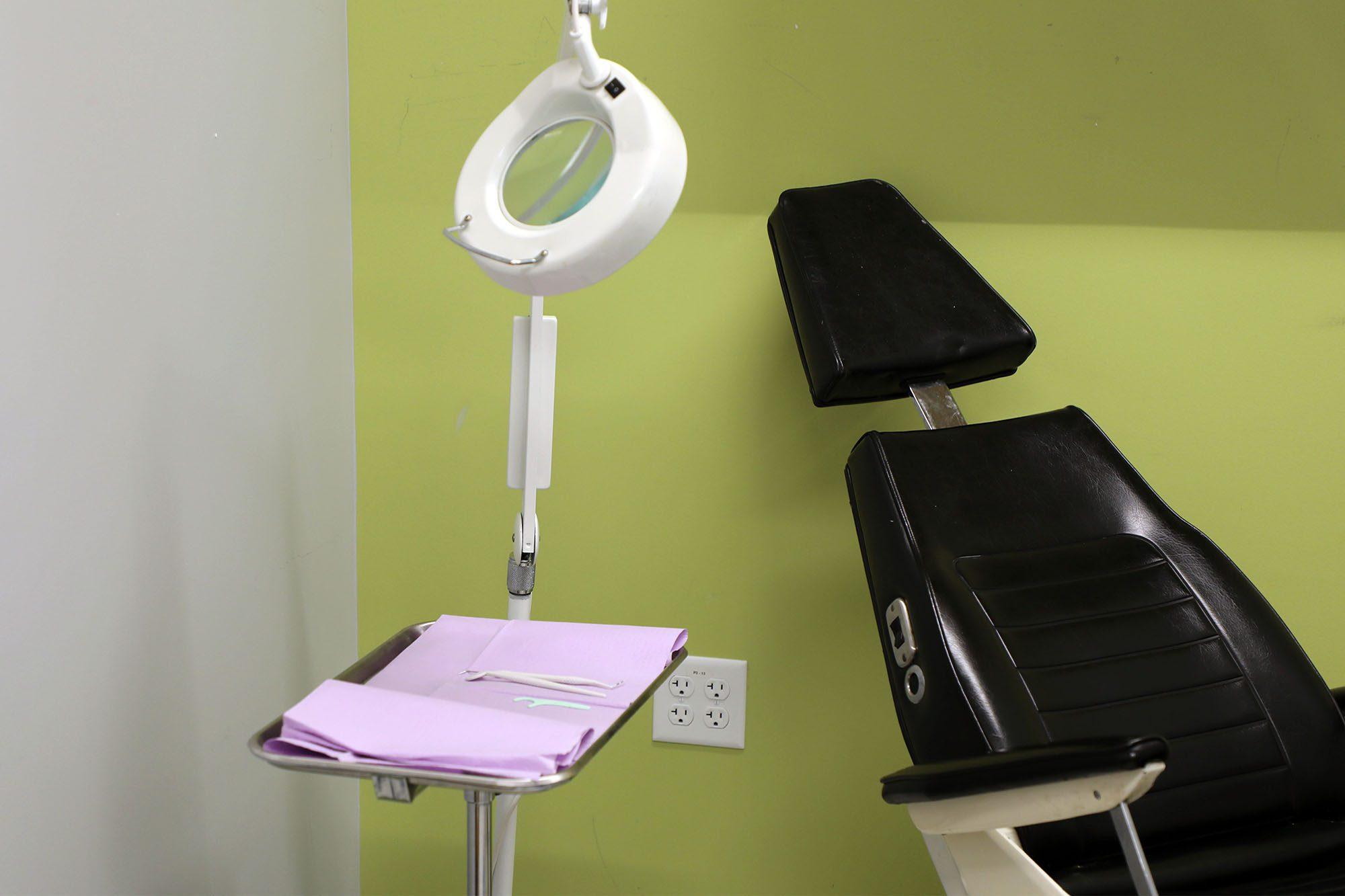 NECC dental exam suite
