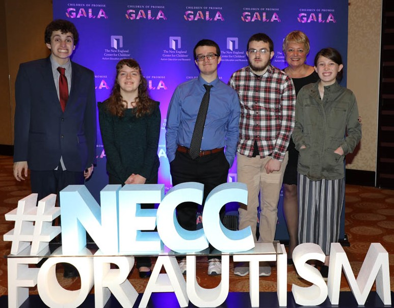 NECC students at the Gala