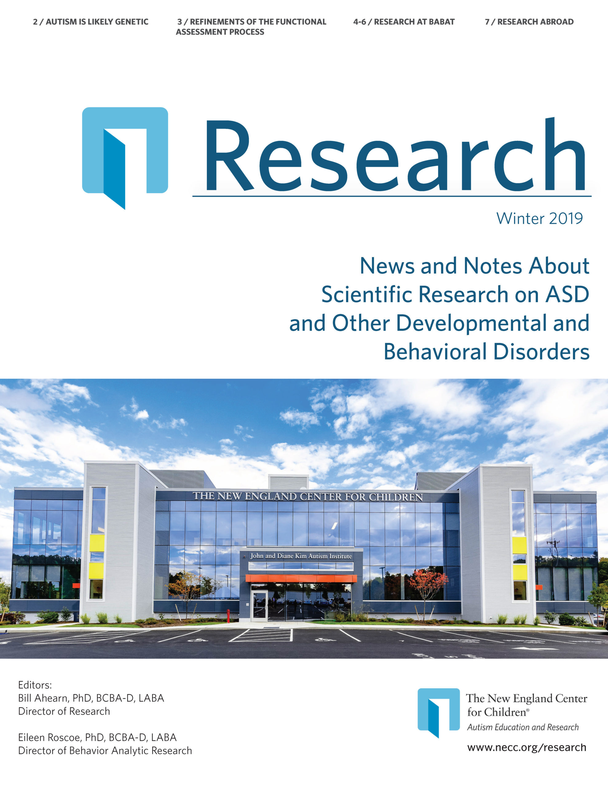 Research News Winter 2019 cover