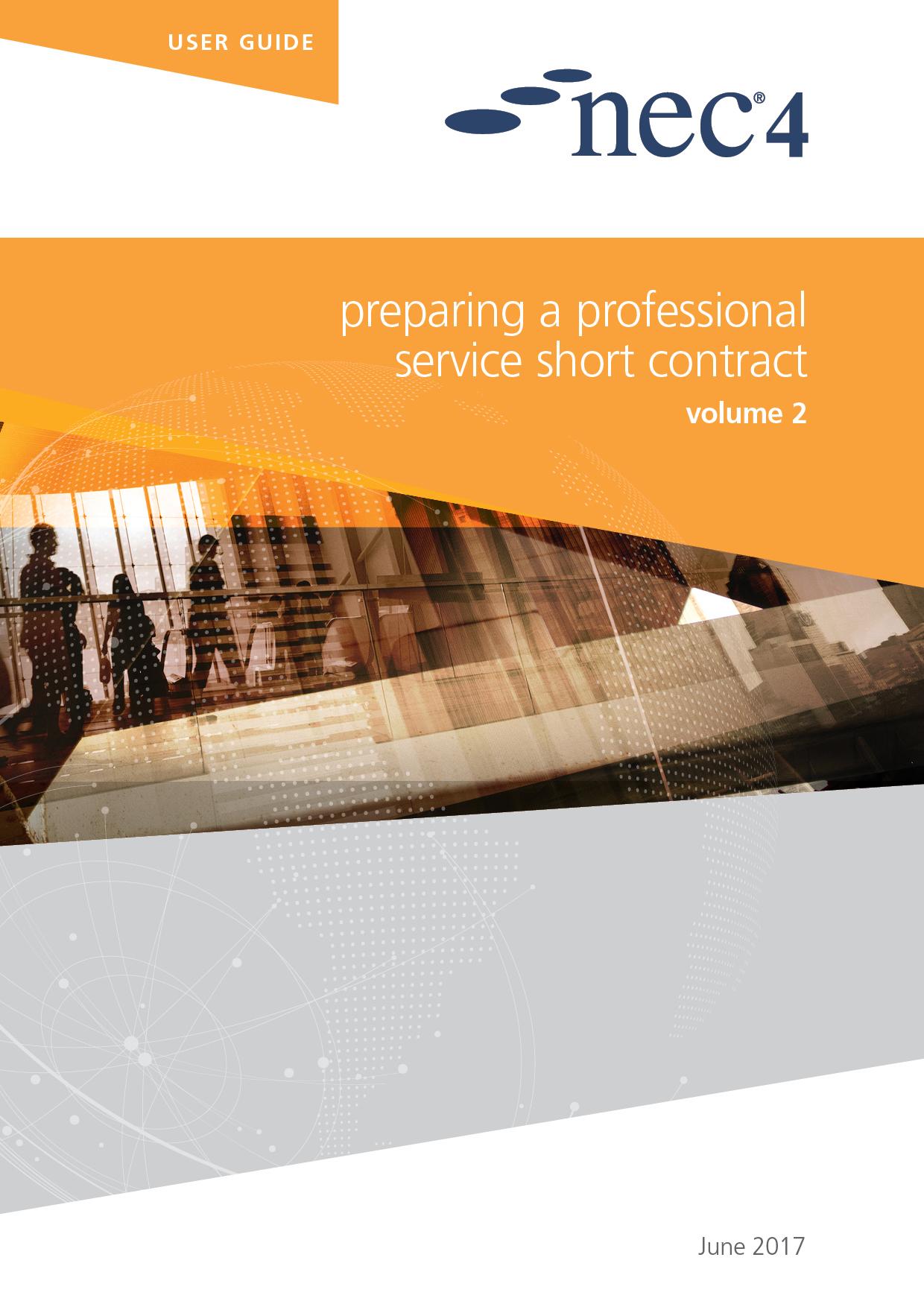 Nec4: Preparing A Professional Service Contract