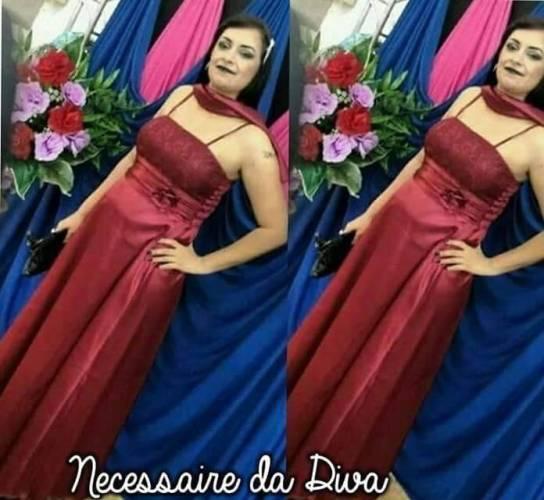 Post: Meu look: vestido de festa.