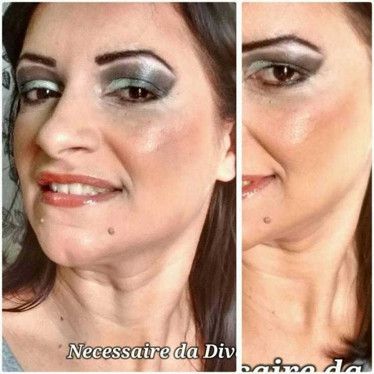 Necessaire da Diva para-post-sombras-2 Melhores makes de uma quarentona e blogueira. Beleza  segredos para uma boa maquiagem segredos da maquiagem pele madura quarentona e blogueira pele madura melhores maquiagens minhas melhores makes make #blogueira