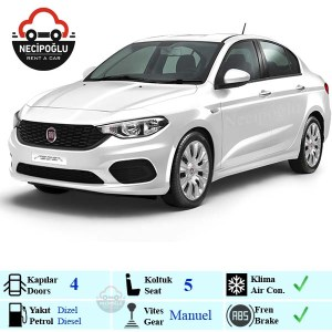 Keçiören rent a car Fiat Egea