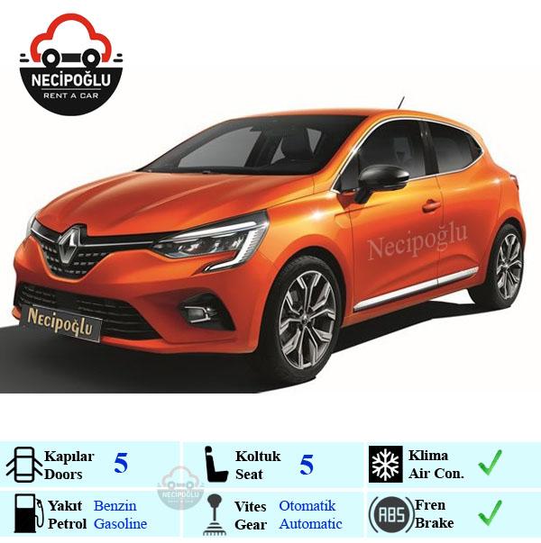 Renault Clio 2020 rent