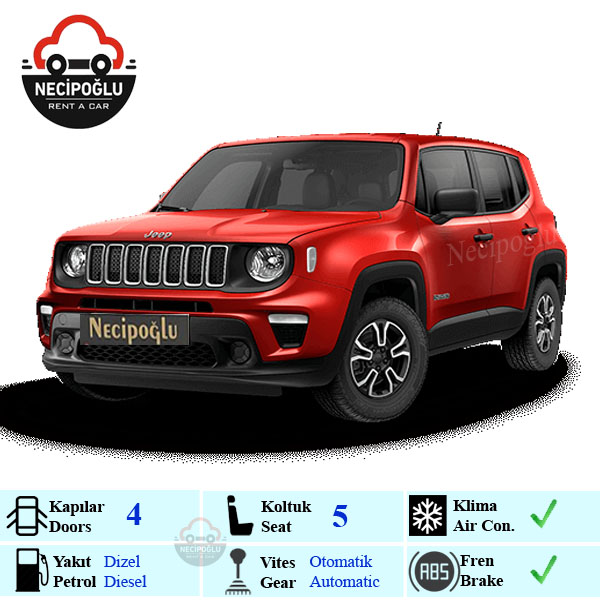 Jeep Renegade Red