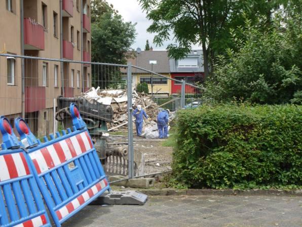 Eine Tage nach unserer Anfrage sehen wir zum ersten Mal Schutzkleidung | Foto: Neckarstadtblog