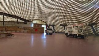 Die Multihalle bekam einen neuen Anstrich | Foto: Neckarstadtblog